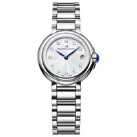 Maurice Lacroix Fa1003 Ss002 170 Women's Fiaba Diamond Set Bracelet Strap Watch Silver Blue