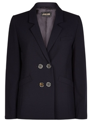 Jaeger Double Breasted Blazer Midnight