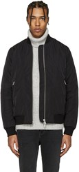 Blk Dnm Black 85 Bomber Jacket