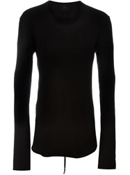 Lost And Found Long Sleeved T Shirt Black