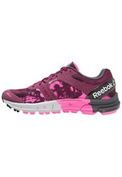 Reebok Crossfit One Cushion 3.0 Trail Running Shoes Berry Pink Black Grey