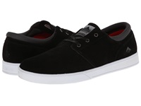 Emerica The Figueroa Black White White Men's Skate Shoes