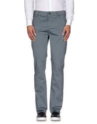 Guess Trousers Casual Trousers Men Slate Blue