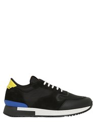 Givenchy Leather Suede And Mesh Sneakers