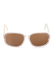 Rochas Vintage Tinted Sunglasses Red