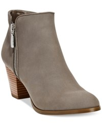 Styleandco. Style Co. Jamila Zip Booties Only At Macy's Women's Shoes Grey