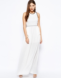 Lashes Of London Eden Maxi Dress White