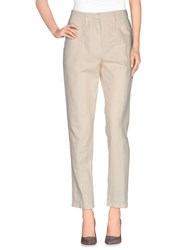 Momoni Momoni Trousers Casual Trousers Women Beige