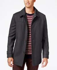Kenneth Cole New York Wool Blend Car Coat Earth