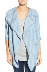 Women's James Jeans Drape Front Chambray Jacket