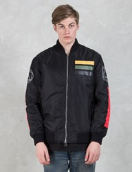Black Scale Workmens Flight Jackets