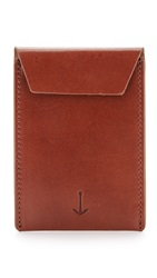 Miansai Envelope Card Holder Brown