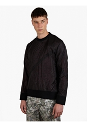 Christopher Raeburn Men's Black Limited Edition Remade Parachute Sweatshirt