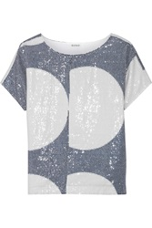 Suno Sequined Cotton Top