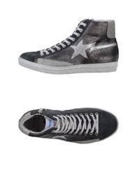 Daniele Alessandrini Homme High Tops And Trainers Steel Grey