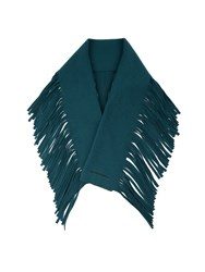 Burberry Fringed Wool And Cashmere Blend Scarf