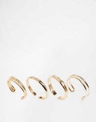Pieces Noma Toe Rings Gold