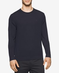 Calvin Klein Men's Merino Crew Neck Sweater Roma