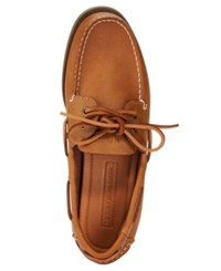Tommy Hilfiger Men's Bowman Boat Shoes Men's Shoes Peanut