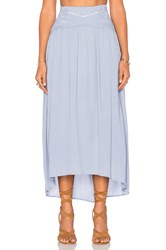 Minkpink Spirited Away Skirt Blue