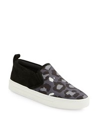 Marc By Marc Jacobs Broome Patterned Platform Sneakers Grey