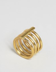 Made Cage Ring Gold
