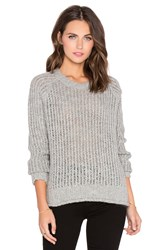 Current Elliott The Dock Sweater Gray