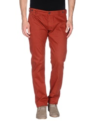 Truenyc. Casual Pants Brick Red