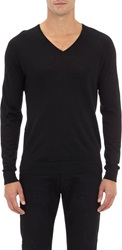 Elie Tahari Blake Sweater Black Size Extra Large