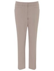 Gardeur Ankle Straight Leg Trousers Pink