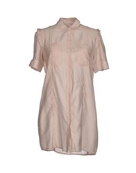 Only 4 Stylish Girls By Patrizia Pepe Shirts Beige