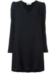 See By Chloe Knot Detail Dress Blue