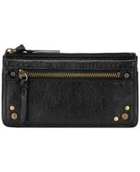 The Sak Sanibel Flap Wallet Black Onyx