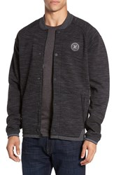 Hurley Men's 'Phantom' Varsity Bomber Jacket