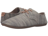 Sanuk Bianca Tx Slate Slub Women's Slip On Shoes Gray