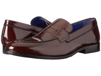 Ted Baker Zephire Dark Red Shine Men's Slip On Dress Shoes