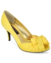 Nina Forbes Evening Pumps Women's Shoes Canary Yellow