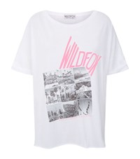 Wildfox Couture Kate Photo T Shirt Female White