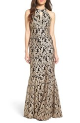 Morgan And Co. Women's Lace Mermaid Gown