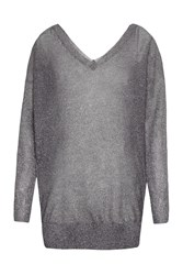 Great Plains Arianna Sparkle Jumper Grey