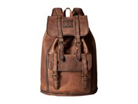 Sts Ranchwear The Foreman Backpack Brown Leather Backpack Bags