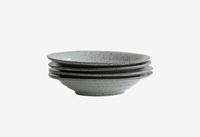 Grey Speckled Bowls Cow Co