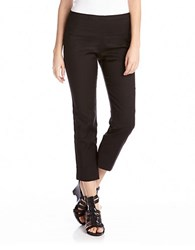 Karen Kane Cropped Pants Black