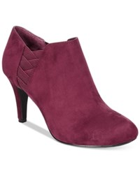 Styleandco. Style Co. Arianah Dress Booties Only At Macy's Women's Shoes Wine