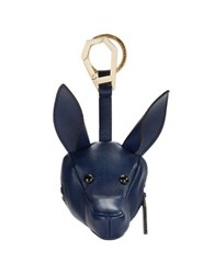 Kendall Kylie Leather Bambino Coin Purse Navy Blue