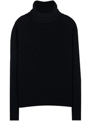 Ami Alexandre Mattiussi Oversized Turtleneck Sweater Black