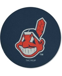 Memory Company Cleveland Indians 4 Pack Coaster Set Navy