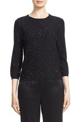 St. John Women's Collection 'Bristol' Sequin Embellished Wool Blend Sweater