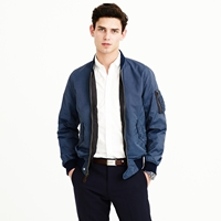 J.Crew Wallace And Barnes A 2 Bomber Jacket
