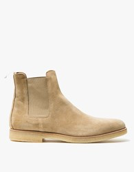 Common Projects Chelsea Boot Suede In Sand